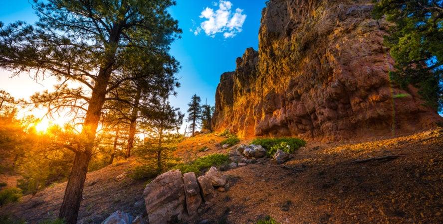 Bryce Canyon mountain biking