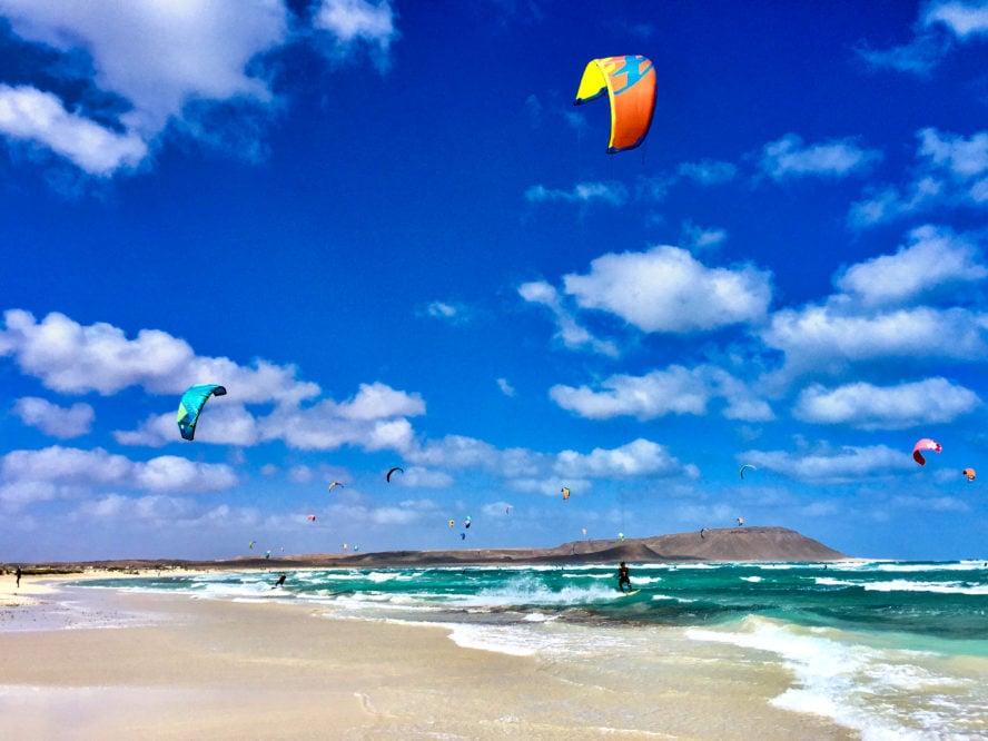 Cape Verde kiteboarding