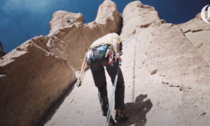 Smith Rock rock climbing video