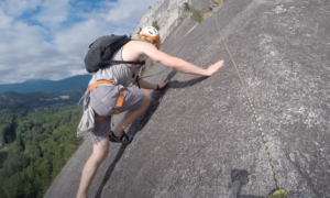 The Chief rock climbing video