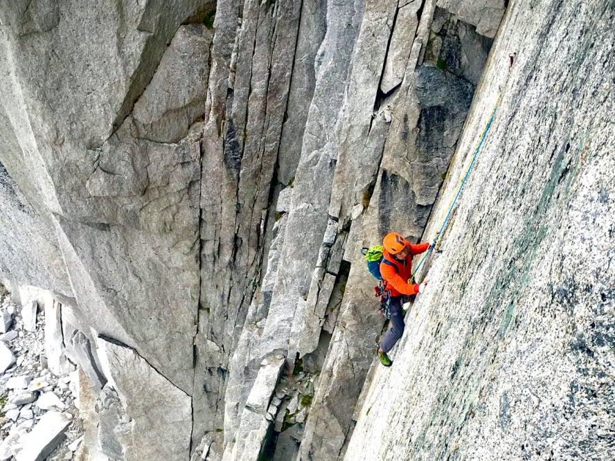 Bugaboos rock climbing