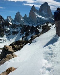 Hiking Fitz Roy Trek