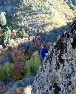 Maple Canyon rock climbing