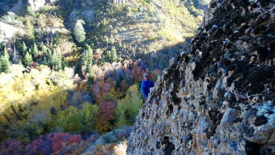 Maple Canyon rock climbing