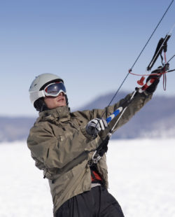 Salt Lake City Snowkiting
