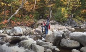 Appalachian Trail hiking video