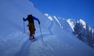 Park City backcountry skiing video