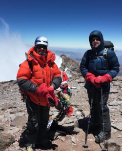 Aconcagua Polish Glacier Route Climbing