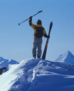 Banff backcountry skiing