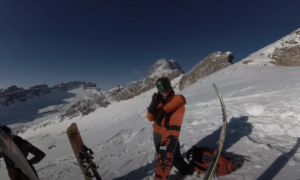Icefields Parkway backcountry skiing video