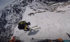 Mount Superior skiing video