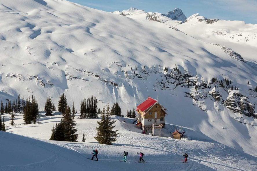Selkirk Lodge Backcountry Skiing