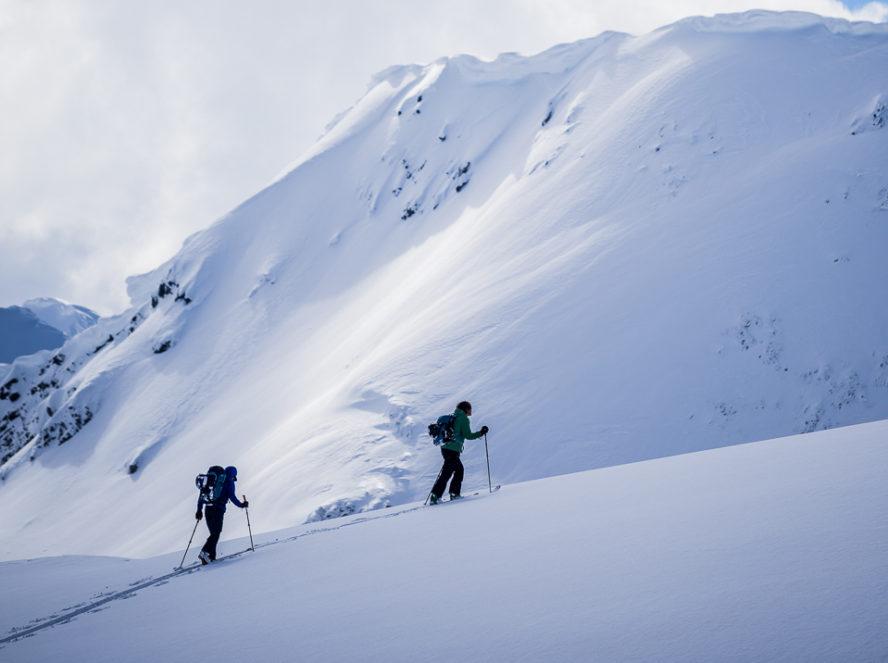 Selkirk Mountains backcountry skiing