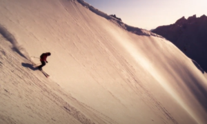 Valhalla mountain backcountry skiing video