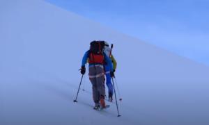 mt baker backcountry skiing video