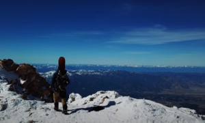 mt shasta backcountry skiing video