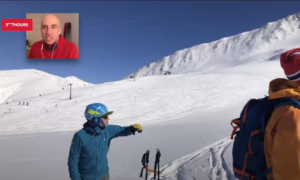 wasatch mountains hybrid avalanche course video