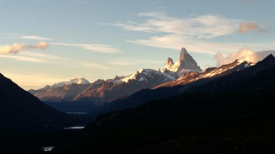 El Chalten Cerro Torre hiking