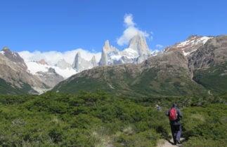 El Chalten Cerro Torre Massif hiking