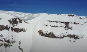 ackson Hole backcountry skiing video
