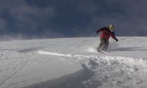 Niseko backcountry skiing video