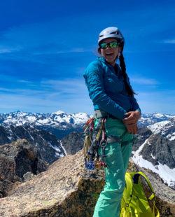 Washington rock climbing