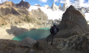 hiking Cerro Torre Massif El Chalten video