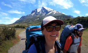 W Trek hiking video