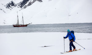 Svalbard backcountry skiing