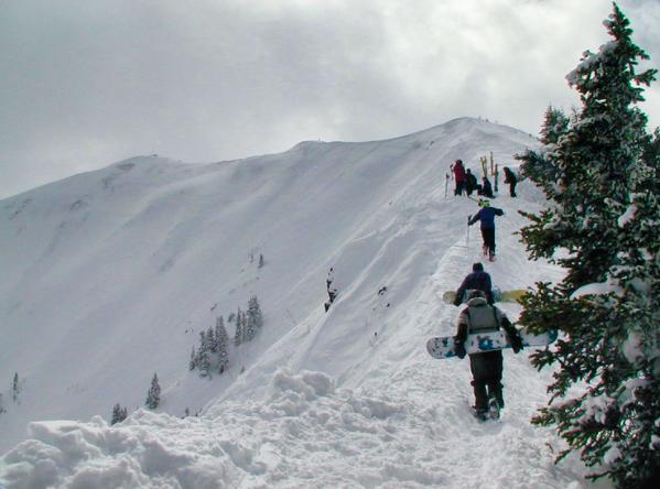 Aspen backcountry skiing