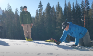 Lake Tahoe backcountry skiing intro video