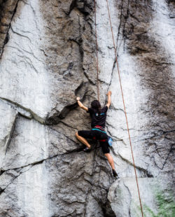 Quincy Quarries rock climbing