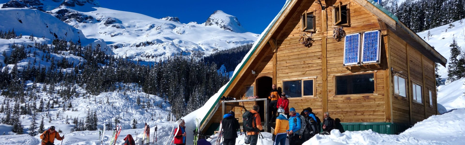 british columbia backcountry ski lodge
