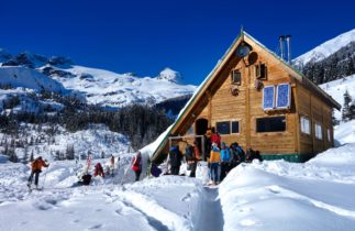 british columbia backcountry ski lodge