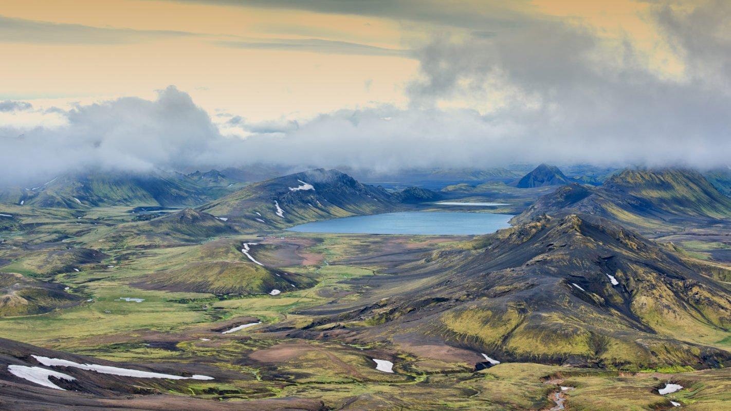 Álftavatn Lake, Iceland