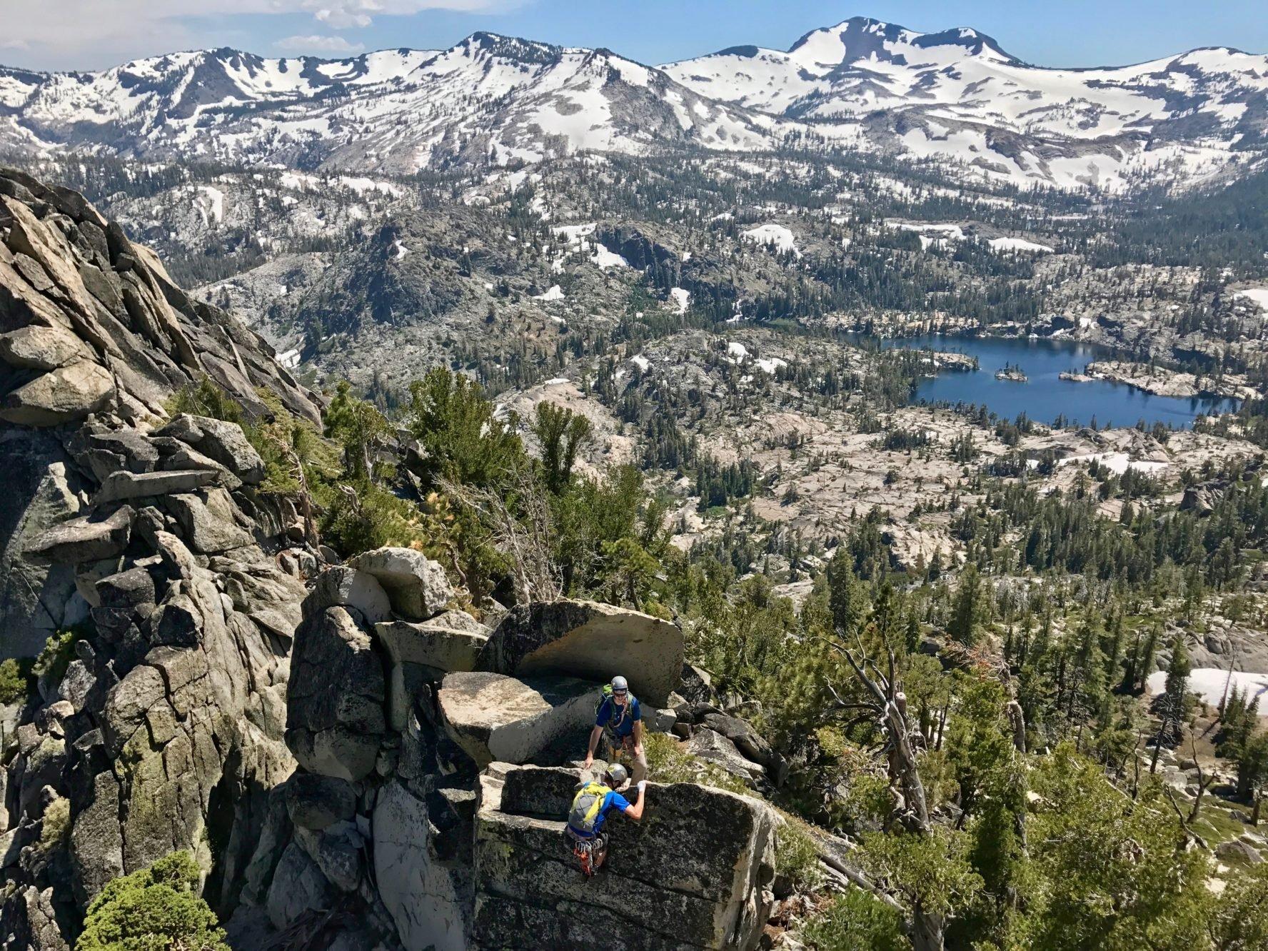 Lake Tahoe rock climbing