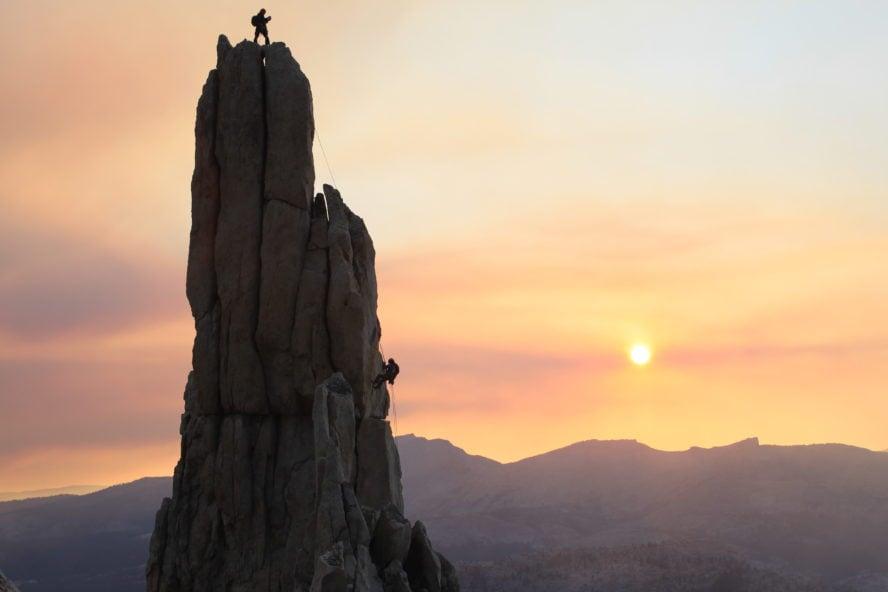 California rock climbing