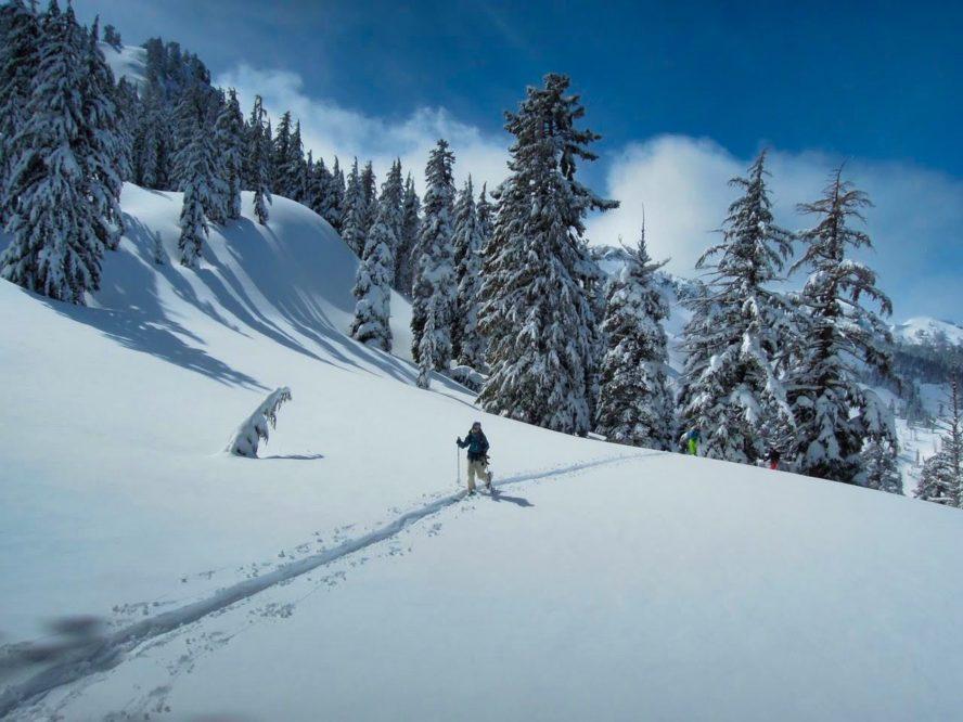 Lake Tahoe backcountry skiing