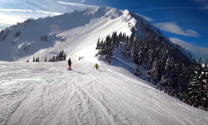 Crystal Mountain backcountry skiing video