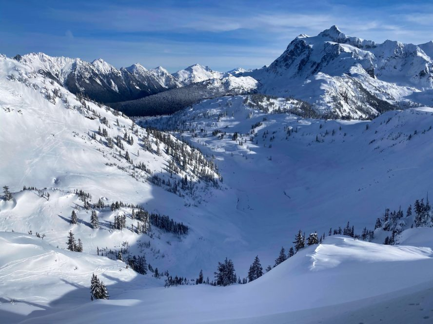 Mt. Baker backcountry skiing