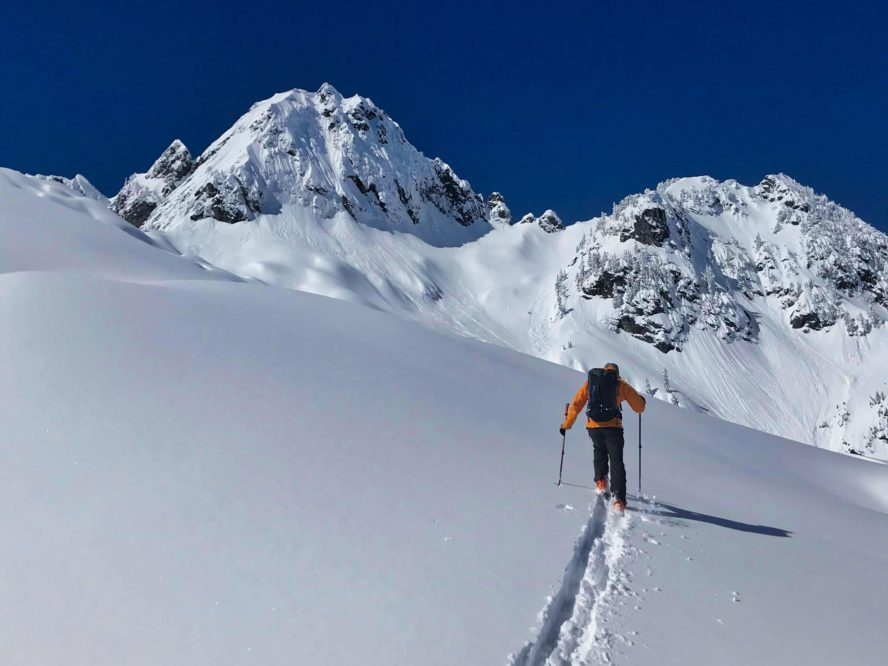 Snoqualmie Pass backcountry skiing