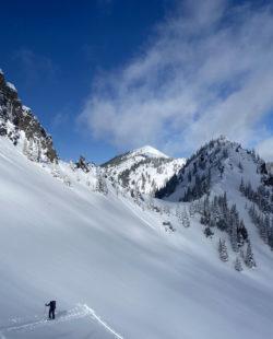 Crystal Washington backcountry skiing