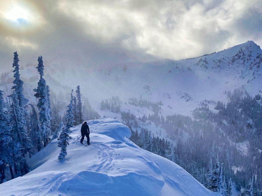 Crystal backcountry skiing