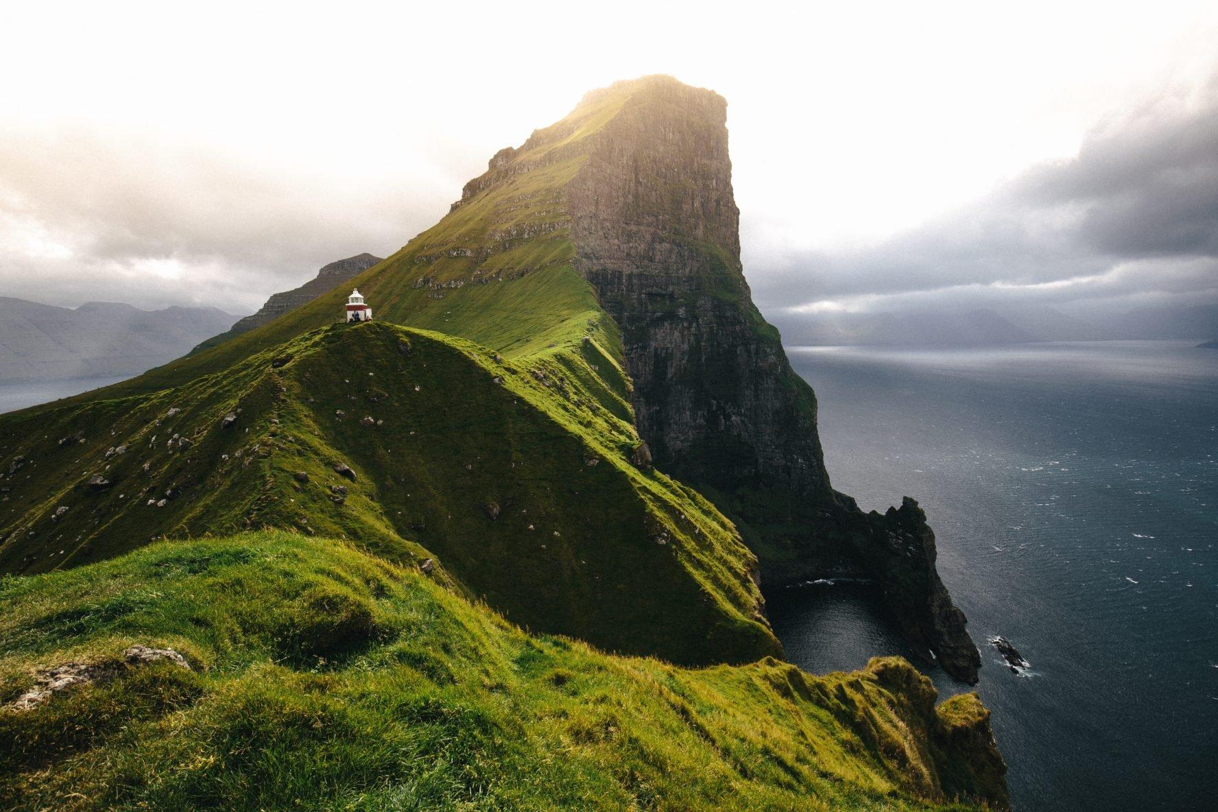 Faroe Islands hiking and sailing