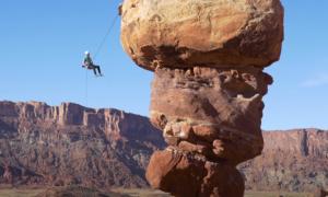 Moab rock climbing video