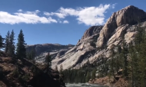 Pacific Crest Trail hiking video
