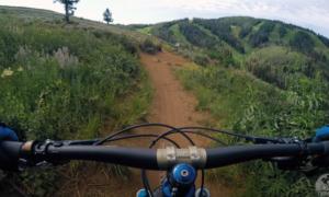 Park City mountain biking video