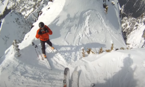 Snoqualmie backcountry skiing video
