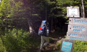 Superior trail hiking video