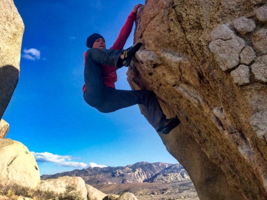 Sierra Nevada rock climbing